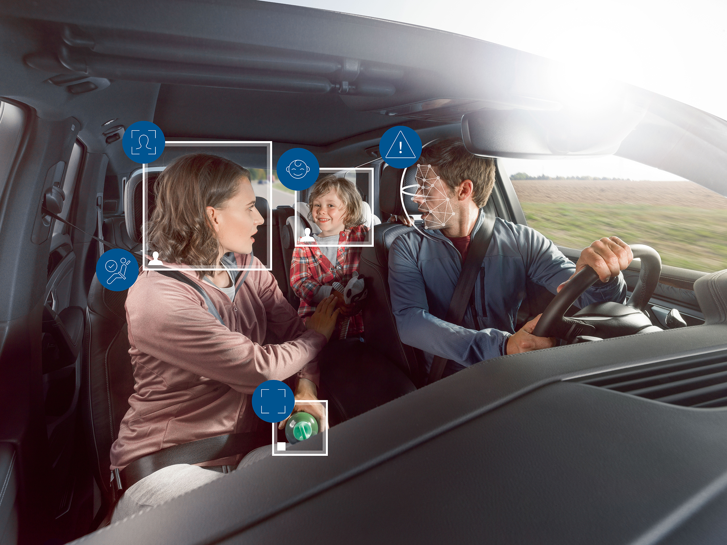 Camera based life saver Bosch helps cars keep an eye on their ...